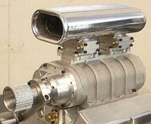 miglior reputazione Little Demon modello Gas Engine Engine Engine V8 Blower PLANS ONLY   l'intera rete più bassa
