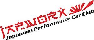 LARGE-JAPWORX-PERFORMANCE-CAR-CLUB-STICKER-rs-jdm-decal-drift-logo-jap-worx