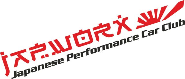 LARGE JAPWORX PERFORMANCE CAR CLUB STICKER rs jdm decal drift logo jap worx