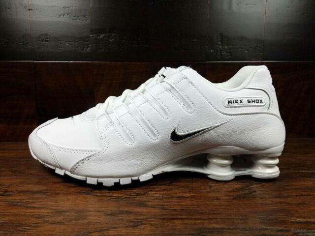 Nike SHOX NZ EU (White Black) NSW [501524 106] Running Mens 7 14