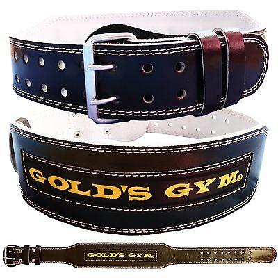 "TOROMAX Gym Weight Lifting Belt 4 6/"" Leather Lumbar Back Support Power Training"