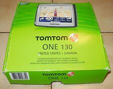 TomTom One 130 Automotive Mountable GPS Device Touchscreen