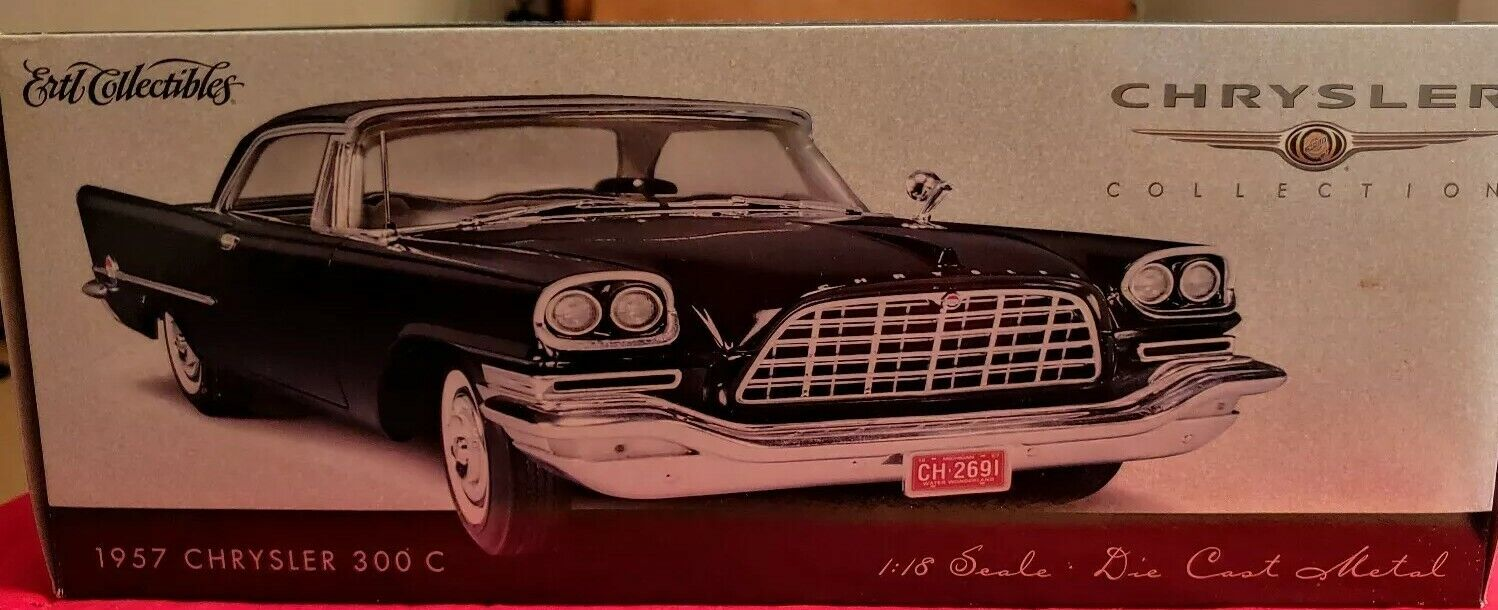 ERTL Collectibles 1:18 diecast 1957 Chrysler 300C Chrysler Collection