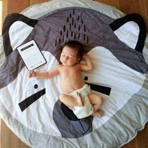 Baumwolle Fuchs DE Kinderdecke Krabbeldecke Babydecke Spieldecke Spielmatte aus