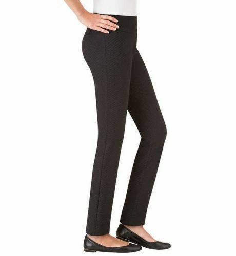 Hilary Radley Womens Slim Leg Pull On Pant 29/' inseam Size SALE COLOR VARIETY