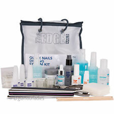 THE EDGE NAILS Professional Quick Nails Dipping System Kit Acrylic for Students