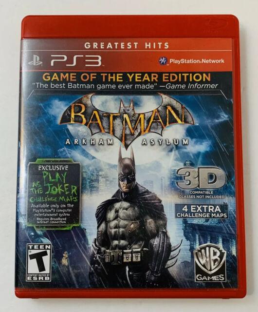 Batman: Arkham Asylum Spiel des Jahres Edition Sony Playstation 3 2010