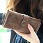 Long-Wallet-Faux-Suede-Woman-Lady-Purse-Female-Wallets-Card-Holder-Clutch thumbnail 9