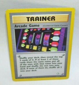 Rare-Pokemon-Card-Trainer-Arcade-Game-83-111-1995-2000-Nintendo