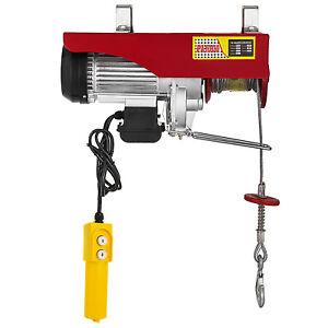 2200-LB-Electric-Wire-Hoist-Winch-Hoist-Crane-Lift-110V-40-ft-W-Remote-Control