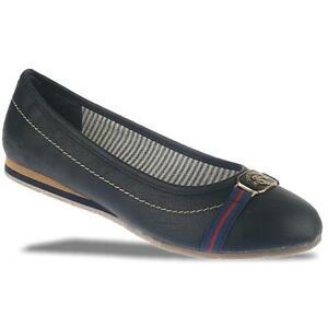 new products 5d4df a687d Details zu TOM TAILOR 9690504 Ballerina maritim blau oder weiss Gr.37-42