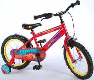 Roues de soutien pour vélos Vélos de 16 pouces de Disney Cars 3 pour enfants, garçons, 81648-ch