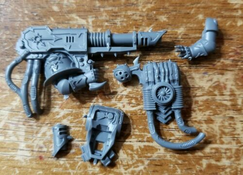 Havocs Engraved Lascannon A Warhammer 40k Heretic Chaos Space Marines Bits