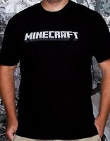 Minecraft Logo T-shirt - S, M, L, Xl, Xxl - Officially Licensed Graphic Tee