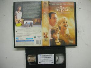 UN SOGNO PER DOMANI 2000 VHS Italian