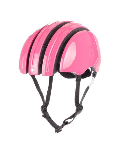 Carrera Fahrradhelm Helm Schutzhelm rosa Foldable C dehnbar Gurt