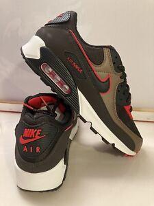 Paraíso Humanista República  Nike Air Max 90 Zapatos paquete CT1686 200 Terciopelo Marrón Negro Rojo  Talla 9.5 | eBay