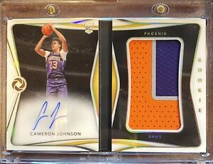 2019-20 Opulence Cameron Johnson RC RPA Rookie Patch Auto Booklet 09/13 Suns