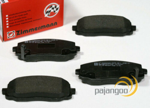 Kia Rio 3 III Zimmermann Bremsscheiben Beläge für vorne hinten