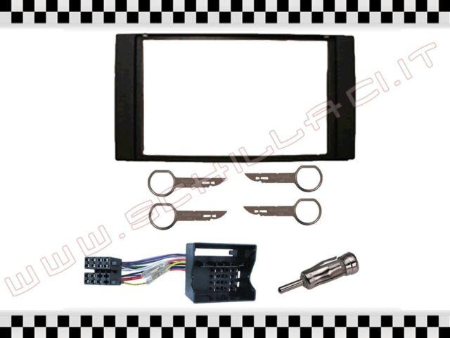 adattatore antenna e ISO per DODGE Crysler Jeep Kit mascherina autoradio 1 DIN