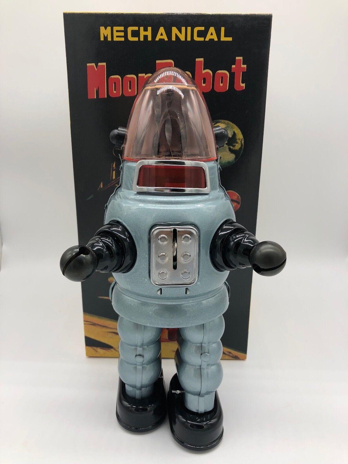 MOON ROBOT Gris ROBBY THE ROBOT YONEZAWA TIN TOY NOMURA YOSHIYA HORIKAWA