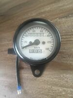 Black 0-140 Km/h Universal Digital Speedometer Motorcycle Odometer Speed Meter