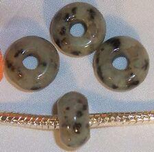 ♥ Tian Shan Lan Amazonit Halbedelstein Bead European European Armband ♥ PBE015