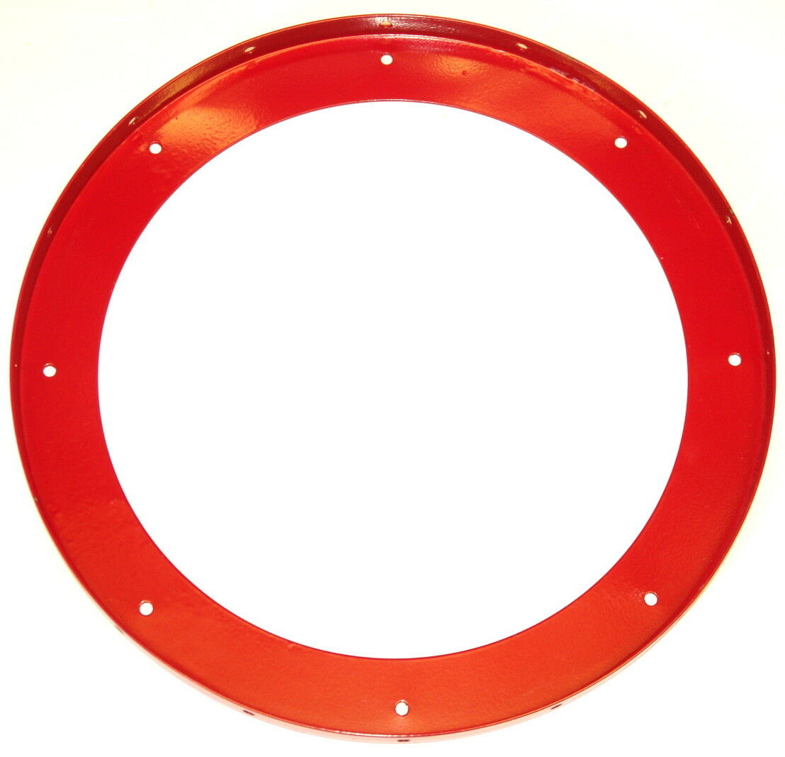 Meccano Part 167b Large Flanged Ring Red