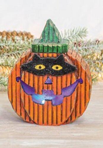 Choice of 3 Styles Cute Light Up Masked Halloween Pumpkin