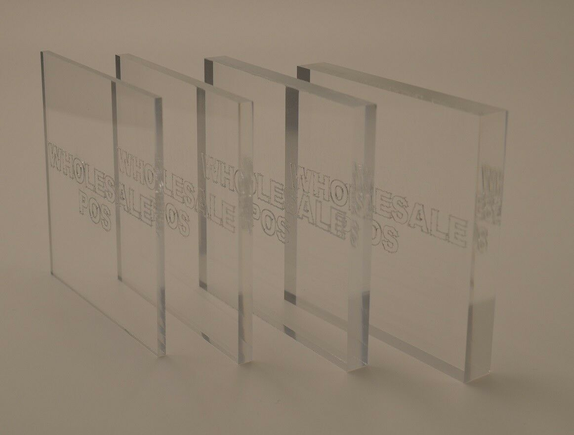 Pack of 2 Acrylic A5 Size Sheet 210 x 150mm x 3mm Perspex FREE Shipping