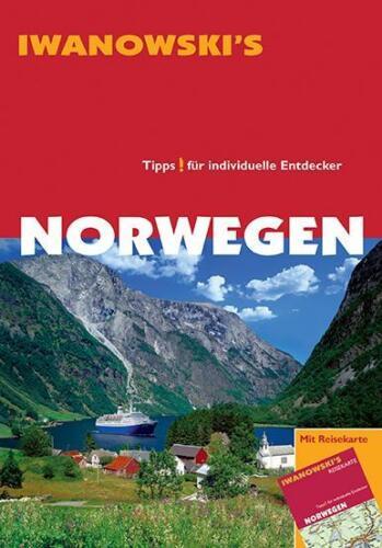 1 von 1 - P2 Norwegen Bergen Oslo  & Karte Iwanowski Reiseführer Stavanger Lofoten Nordkap