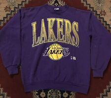 Vtg Los Angeles Lakers Crewneck Sweatshirt Mens Size XL Nba Logo 7