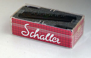 1-x-original-Schaller-Tailpiece-SH-6-strings-in-different-colors
