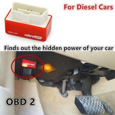 New Red Plug & Drive Economy Chip Tuning Box ECU Remapping For Diesel Cars