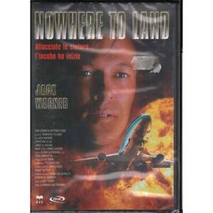 Nowhere To Land DVD Christine Elise / Jack Wagner / James Sikking Sigillato