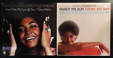 Nancy Wilson 2 Vinyl LPs • Today My Way & Can't Take My Eyes Off You, Soul