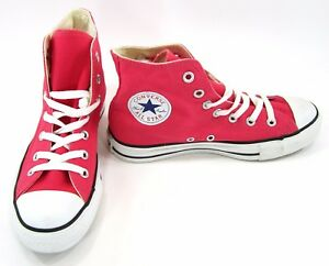 831181784fd Converse Shoes Chuck Taylor Hi All Star Raspberry White Sneakers Men ...
