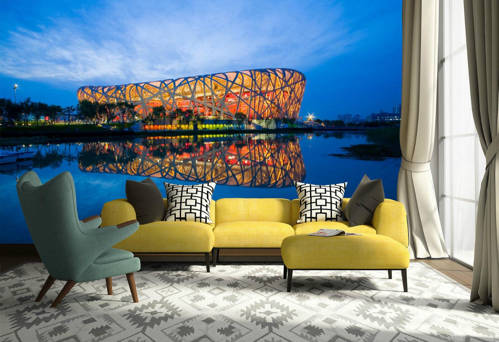 3D Arène Luxe 66 Photo Papier Peint en Autocollant Murale Plafond Chambre Art