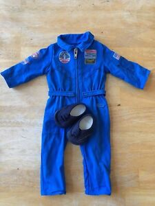 American Girl Luciana Girl Of The Year 2018 Flight Suit Preowned