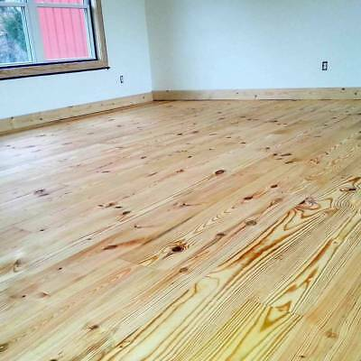 Special Purchase From Vintage Pine Flooring Wide Plank Unfinished All 6 Lengths Ebay