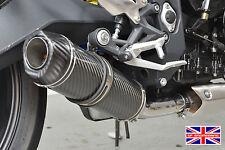 Triumph Street Triple 13-16 SP Diabolus Carbon Round XLS Carbon Outlet Exhaust