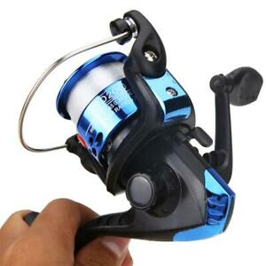 Aluminum-Body-Spinning-Reel-3BB-G-Ratio-5-1-1-Fishing-Reels-Tackle-w-0-3mm-Line
