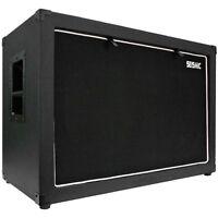 Seismic Audio 12 Guitar Speaker Cabinet Empty 2x12 Cab 212 Tolex on sale
