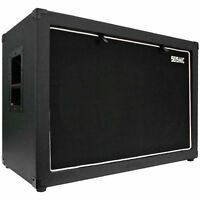 Seismic Audio 12 Guitar Speaker Cabinet Empty 2x12 Cab 212 Tolex on sale