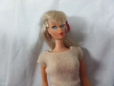 GORGEOUS Vintage MOD Barbie TWIST' N' TURN Doll Light Blonde Lovely MAKEUP ORIG.