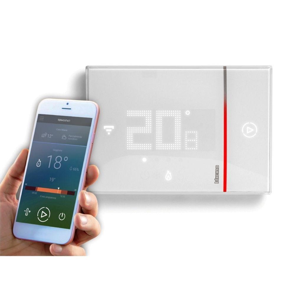 Bticino X8000 - Thermostat versenkt verbunden smarther Wi-Fi Verkauf Ende s
