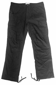Black Lacci Taglia Pants Alle Neri Pantaloni Con Uomo Burton Man 36 g7aqwRx4