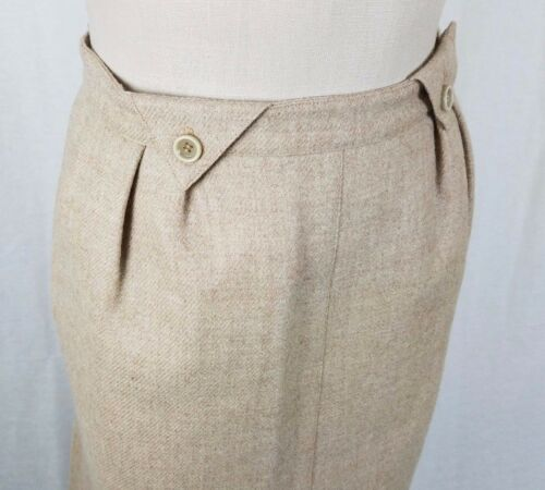 Paris Di Courreges Tweed Midi 0 Brand Gonna Francia 1960s Lana S Vintage dEtxqnwt