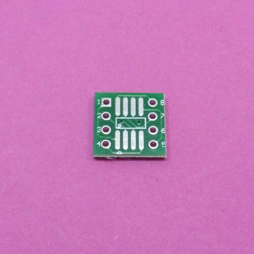 SOP8 PCB Adapter Board Converter Plate SO8 SOIC8 TSSOP8 MSOP8 to DIP8 DIY
