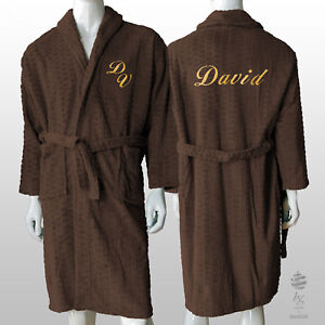 d5cbaccb7f Image is loading UNISEX-MENS-PERSONALIZED-POLAR-FLEECE-ROBE-REF-HIVE-